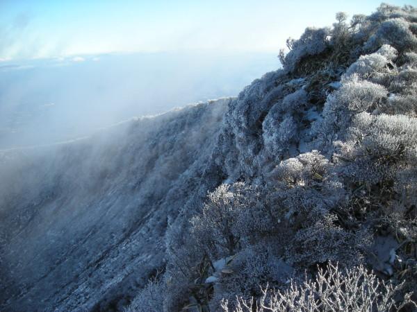 韓国岳雪景