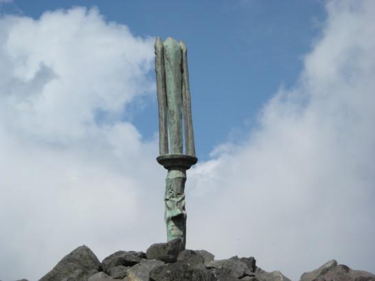 高千穂峰の逆鉾