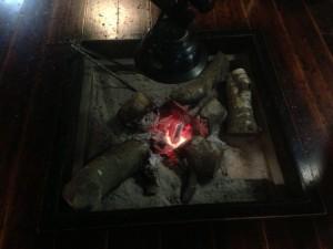 かくれ里 囲炉裏