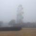 俳句吟行 国分城山公園は雲の中